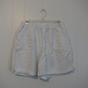 *3/$10* Montera Bay Thin White Shorts Sz. M